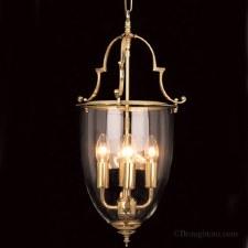 Norfolk Lantern Large Polished Brass