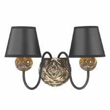 David Hunt NOV0963 Novella Double Wall Light Bronzed