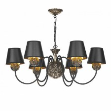 David Hunt NOV0663 Novella 6 Light Pendant Chandelier Bronzed