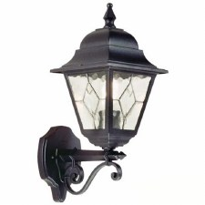 Elstead Norfolk Outdoor Wall Uplight Black
