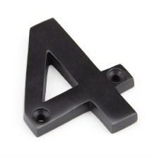From The Anvil Numerals 4 Aged Bronze