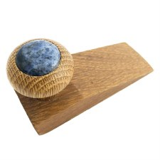 Oak Door Wedge with Blue Granite Insert