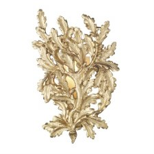 David Hunt OAK0735 Oak Wall Light Gold