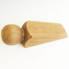 Oak Door Wedge Plain Hand-made