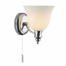 Oboe Bathroom Wall Light Polished Chrome