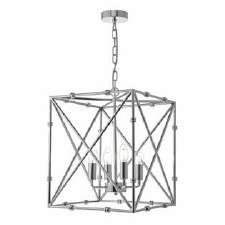 Ochus Lantern Pendant Light Polished Chrome