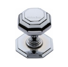 Heritage V890 Centre Door Knob Polished Chrome