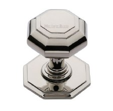 Heritage V890 Centre Door Knob Polished Nickel