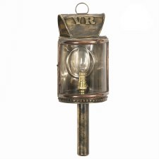 Omnibus Wall Lamp Light Antique Brass