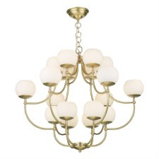 David Hunt OPE1840 Opera 18 Light Pendant