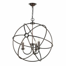 David Hunt ORB0364 Orb 3 Light 600mm Chandelier Antique Copper