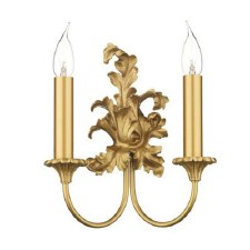 David Hunt SC22 Ormolu Double Wall Light Gold