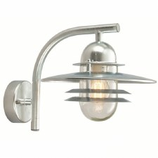 Elstead Oslo Outdoor Wall Light Galvanized