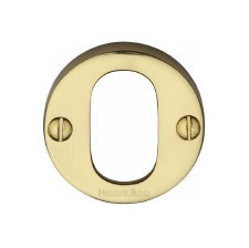 Heritage Round Escutcheon V1013 Polished Brass