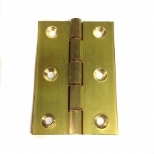 75mm x 51mm Bronze Washered Hinges Self Colour