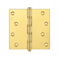 "Projection Hinge P1560 CE 4""x4"" Polished Brass Unlac"