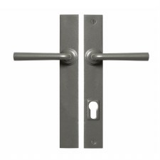 Stonebridge Padstow Multipoint Patio Door Handles Armor Coat Satin Steel