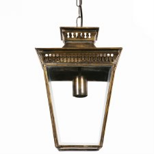 Pagoda Hanging Lantern Small Light Antique Brass