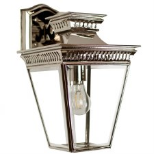Pagoda Overhead Arm Wall Lantern Nickel