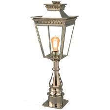 Pagoda Pillar Tall Lantern Nickel
