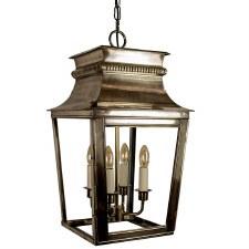 Parisienne Lantern Large - Light Antique Brass