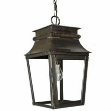 Parisienne Lantern Small Antique Brass
