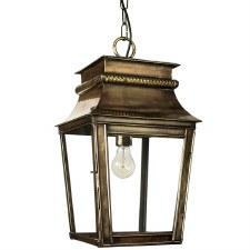 Parisienne Lantern Small - Light Antique Brass