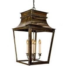 Parisienne Lantern Extra Large - Light Antique Brass