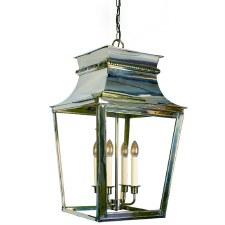 Parisienne Lantern Extra Large Polished Nickel