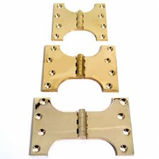 Parliament Hinge Polished Brass