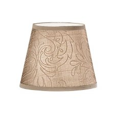 Candle Clip Lampshades Beige Silk