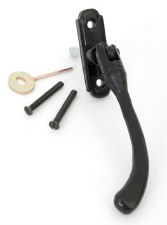 From The Anvil Peardrop Espagnolette Window Handle Black