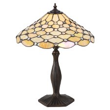 Interiors 1900 Pearl Tiffany Table Lamp