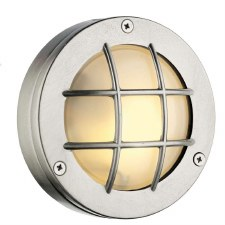 David Hunt PEM5038 Pembroke Flush Light Nickel IP44