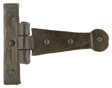 "From The Anvil Penny End Tee Hinges 4"" Beeswax"
