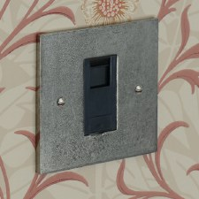 Pewter Telephone Socket Secondary