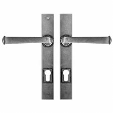 Finesse Allendale Multipoint Entry Door Handles FDMP02 Solid Pewter