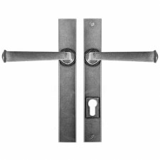 Finesse Allendale Multipoint Patio Door Handles FDMP07 Solid Pewter