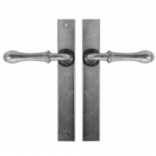 Finesse Derwent Multipoint Passage Door Handles FDMP14 Solid Pewter
