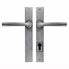 Finesse Tunstall Multipoint Patio Door Handles FDMP25 Solid Pewter
