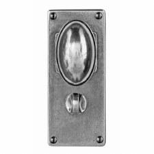 Finesse Lincoln Bathroom Door Knobs Jesmond Plate FD196 Solid Pewter