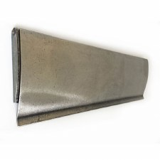 Solid Pewter Internal Letter Box Flap 305mm