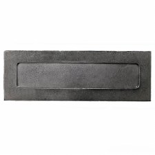 Solid Pewter Letter Plate