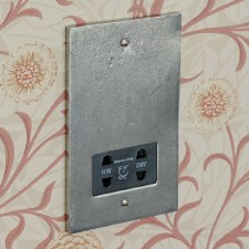 Pewter Shaver Socket