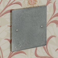Pewter Single Blank Plate