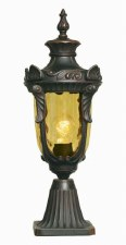 Elstead Philadelphia Pedestal Lantern Light Bronze