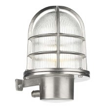 David Hunt PIE1638 Pier Outdoor Wall Light Nickel IP64