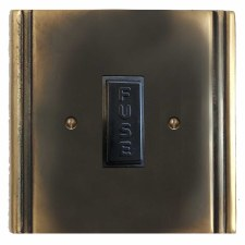 Plaza Fused Spur Connection Unit 13 Amp Dark Antique Relief