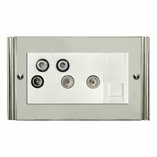 Plaza Sky+ Socket Polished Nickel