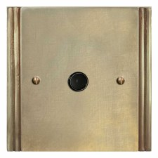 Plaza Flex Outlet Antique Satin Brass